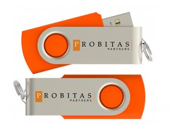 Logo Surface Screened on USB Drive